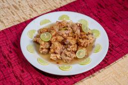 Pollo Limon Kay con Salsa de Limón (Dulce)