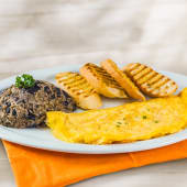 Desayuno completo con omelet