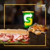 Ham Sandwich + Potato Combo (15cm)