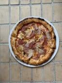 Піца з прошуто та гливами (520г)