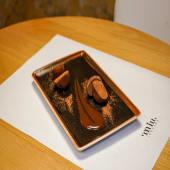 Mochi japones de chocolate