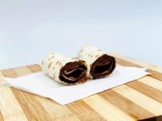 Burrito con nutella® e briciole di nachos