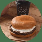 Bongiorno Chapin + Café o Latte