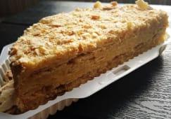 Торт Наполеон домашній половинка (600г)