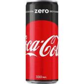 კოკა-კოლა შაქრის გარეშე 0.33 L