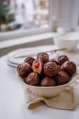 Bomboane cu ciocolata si visine