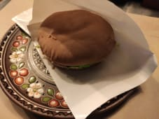 Дабл бургер з куркою та соусом Цезар (250г)