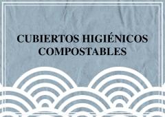 Cubiertos higiénicos compostables