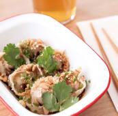 Ravioli en sauce (6 pièces) - Wonton porc crevette