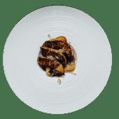 Foie-gras caramelizat cu trufe