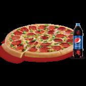 Orta Boy Pizza + Litrelik İçecek