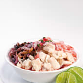 Ceviche mixto triple