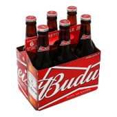 Six Pack  Budweiser 343 Ml