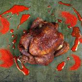 1 pollo Thailandia + patatas rustidas