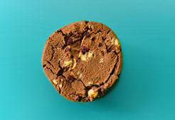 Cookie de doble chocolate