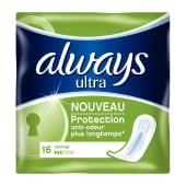 ALWAYS ultra normal 16 protections