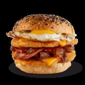 Sándwich criminal + papas fritas
