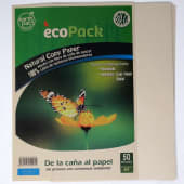 Papel Fino Natural Ecologico A4 72Gr Pqtx50Hjs