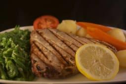Bife de Atum Fresco na Grelha