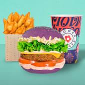Flower Burger Meal