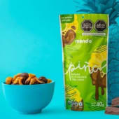 Piña cubierto en chocolate bitter Mondo Snacks