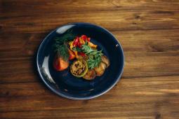 Запечені овочі з ароматною зеленню (210г)