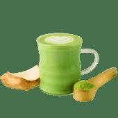 Matcha coco latte