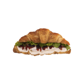 Croissant cu brânză Brie & confit de sfeclă cu trufe