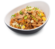 Смажений рис з куркою (300г)