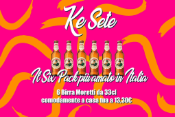6 Birre Moretti 33cl