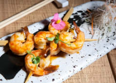 Shrimp Yakitori