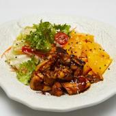 #17 Ensalada de Thai (Tenppanyakki de pollo y mango)