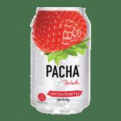 Pacha გაზირებული სასმელი, მარწყვის. Pacha Drink Strawberry