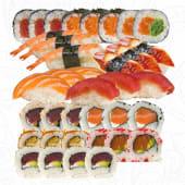 H. Super Sushi Mix, 36 Piezas