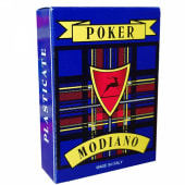 Carte Da Poker Plastificate Blu