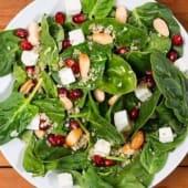 Spiquinoa salad