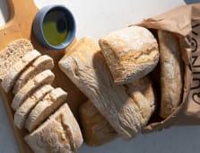 Pan fresco ciabatta Quinoa  (6 uds. de 100 g.)