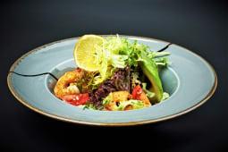 Салат з креветками і авокадо (210г)
