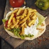 Potato Pita (Fasting)