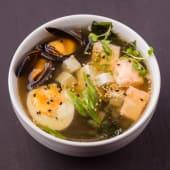 Місо суп з лососем (400г)