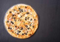 Pizza Pollo e funghi Ø 24cm