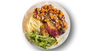 Hummmmus salad