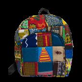 Kitenge Backpack