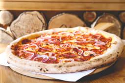 Pizza Chorizo pork