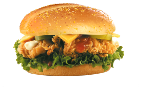 Angry Chicken Burger
