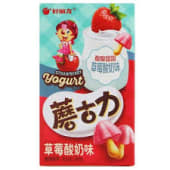 Biscoito com sabor iogurte de morango 41g