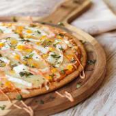 Pizza Queso Cabra (32 Cm.)
