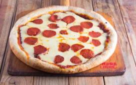 Porción de pizza de pepperoni (XXL)