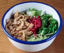 Bowl vegano de verduras y Heura