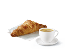 Café + Croissant
